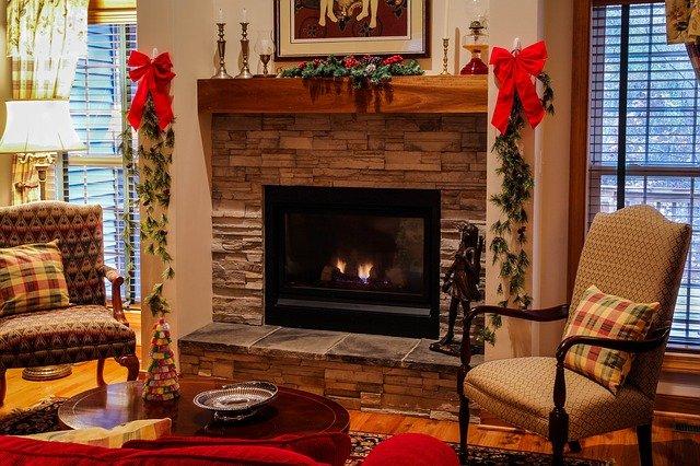 dom świąteczne ozdoby