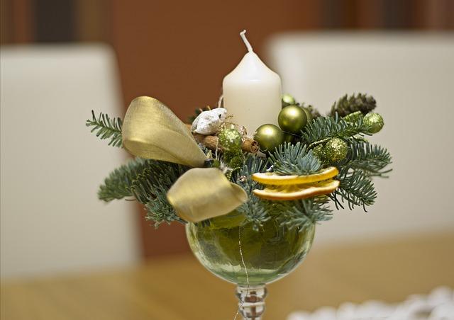 ozdoby świąteczne stroik