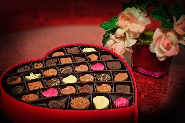 czekoladki dla niej na walentynki